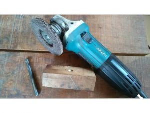 Sharpening With Angle Grinder