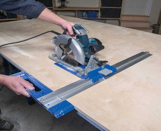 2. Long Straight Cuts for Thick Pieces using Circular Saw