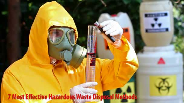 Hazardous Waste Disposal Methods