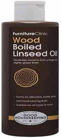 Furniture Clinic Boiled Linseed Oil for Wood Furniture