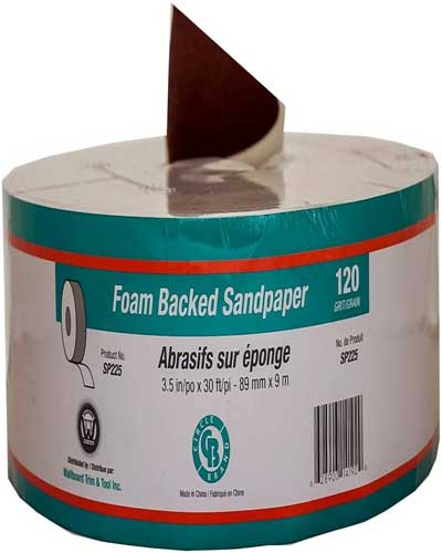 Circle Brand Sponge Back Drywall Sandpaper