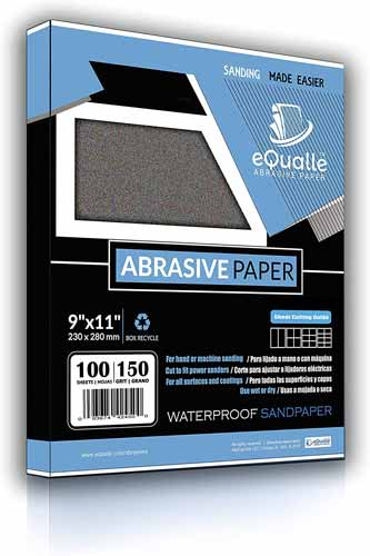 eQualle Waterproof Silicon Carbide Abrasive