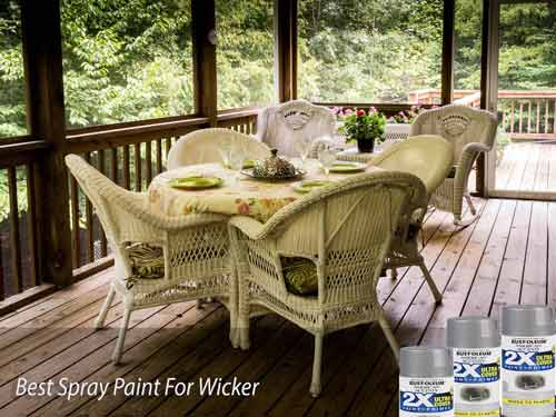 Best Spray Paint For Wicker