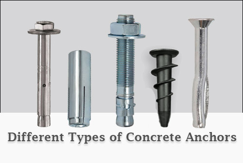 Types of Concrete Anchors