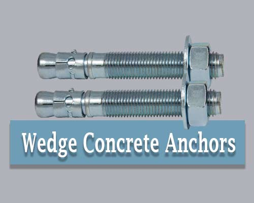 Wedge Concrete Anchors